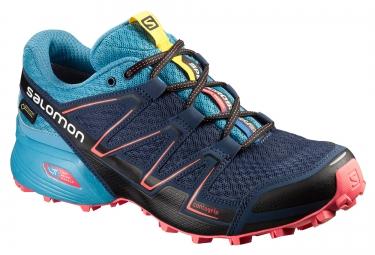 salomon speedcross vario gtx femme bleu 41 1 3