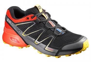 Chaussures de Trail Salomon SPEEDCROSS VARIO  Noir / Rouge