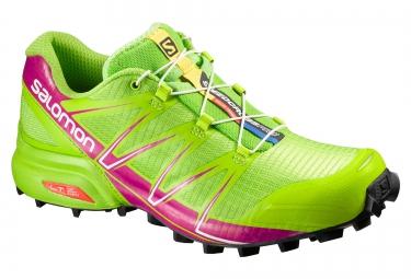 salomon speedcross pro femme vert rose 36 2 3