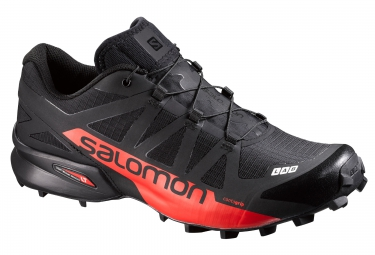 salomon s lab speedcross noir rouge 45 1 3