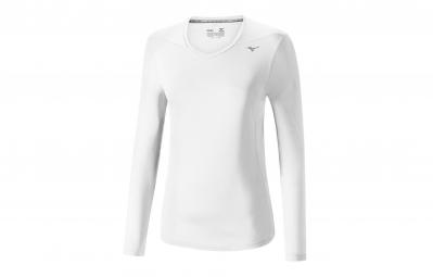 T-Shirt Manches Longues Femme MIZUNO CORE Blanc