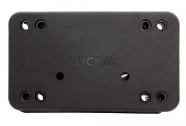 KLICKFIX Support Panier Avant Fixe Noir