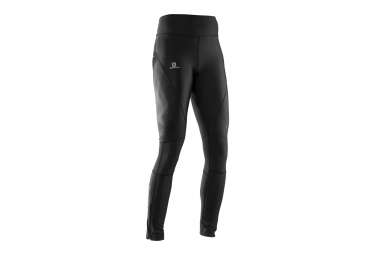 collant long running femme salomon intensity noir m