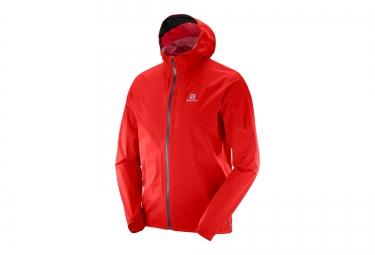 veste running homme salomon bonatti wp matador rouge xxl