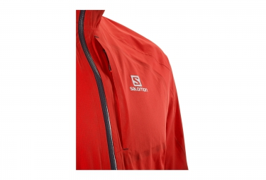 SALOMON Men BONATTI WP Jacket MATADOR Red