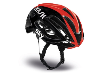 Casque KASK PROTONE VUELTA Noir Orange