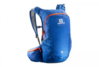 sac a dos salomon trail 20 bleu orange