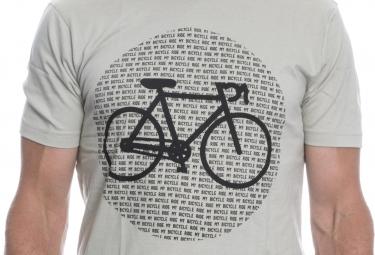 LeBram T-Shirt Point Bike Gris