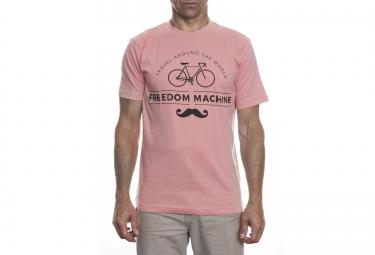 LeBram T-Shirt Freedom Machine Rose