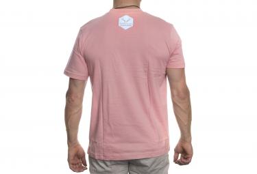 LeBram T-Shirt Velo Remix Rose Bleu