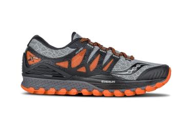 Chaussures de Trail Saucony XODUS ISO Gris / Noir / Orange