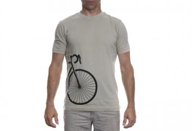LeBram T-Shirt Side Bike Gris