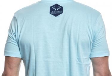 LeBram T-Shirt Velo Remix Bleu