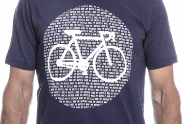 LeBram T-Shirt Point Bike Bleu Marine