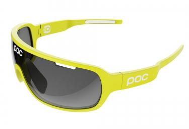 poc lunettes do blade edition limitee cannondale drapac jaune noir