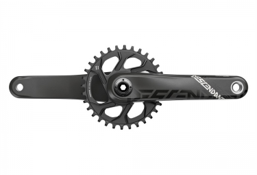 pedalier truvativ descendant carbon gxp boost 148mm boitier non inclus 32 dents noir 175