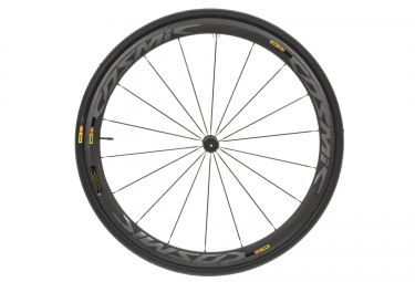 mavic roue avant cosmic pro carbone sl pneu 25 mm