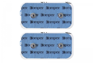 Compex EasySnap Performance 50x100mm 2 Snaps Electrodes