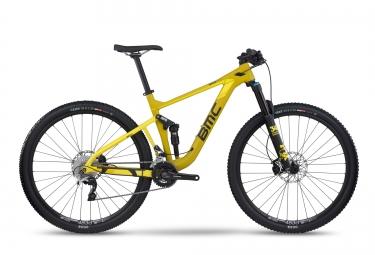 Vtt bmc 2017 speedfox 02 shimano slx xt 10v jaune m 172 182 cm