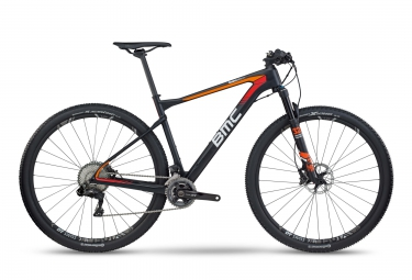 vtt bmc 2017 teamelite 01 shimano xt di2 11v noir rouge orange l 180 190 cm