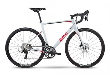velo route bmc 2017 roadmachine rm03 shimano 105 11v blanc rouge 51 cm 168 173 cm