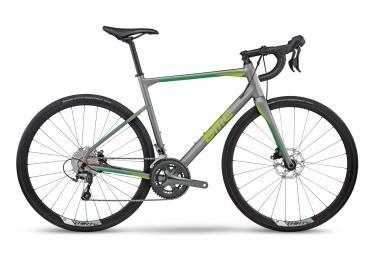 Velo route bmc 2017 roadmachine rm03 tiagra 10v gris vert 54 cm 172 180 cm