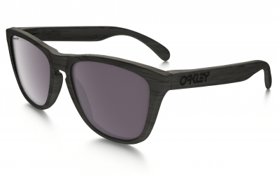 lunettes oakley frogskins woodgrain gris prizm daily polarise ref oo9013 89