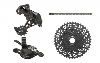 Groupset Mini SRAM NX 11S (without Crankset) Black