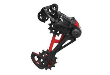 Grupo Sram X01 Eagle DUB 12 velocidades (sin eje de pedalier) Negro/Rojo