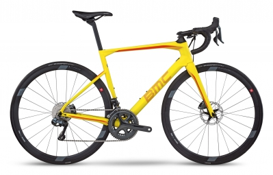 velo route bmc 2017 roadmachine rm02 shimano ultegra di2 11v jaune 54 cm 172 180 cm