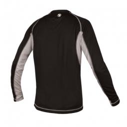 endura maillot manches longues cairn noir gris m