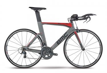 velo triathlon bmc 2017 timemachine tm02 shimano ultegra 11v gris rouge 50 cm 168 173 cm