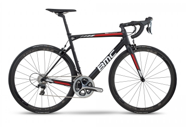 Velo de route bmc 2017 teammachine slr01 shimano dura ace 11v team noir rouge 56 cm