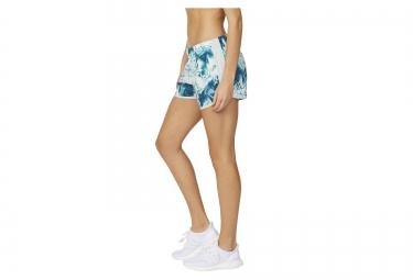Short Femme adidas M10 3in Bleu Vert