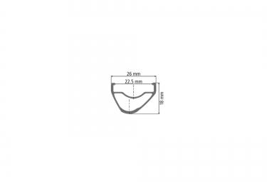 Roue Arrière DT SWISS XR 1501 SPLINE ONE 27.5'' | Largeur 22.5mm | Boost 12x148mm | Center Lock | Noir