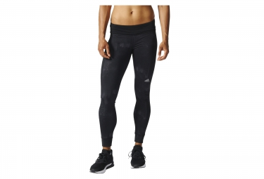 collant long femme adidas response graphic climawarm noir xs