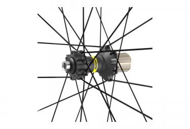 paire de roues vtt mavic xa elite 29 noir axe 15mm 9mm av 142x12mm 135x9mm ar sram s