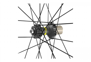 paires de roues vtt mavic xa elite 29 noir axes boost 15x110mm av 148x12mm ar sram s