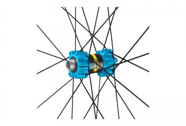Paire de Roues VTT MAVIC XA Elite 29'' Bleu Axes 15mm - 9mm Av | 142x12mm - 135x9mm Ar | Sram/Shimano | Quest Pro 2.35