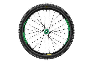 MTB Wheels MAVIC XA Elite 27.5'' BOOST Green Shimano/Sram / Quest Pro 2.4