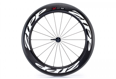 Roue avant zipp 808 firecrest v3 carbon pneu noir blanc