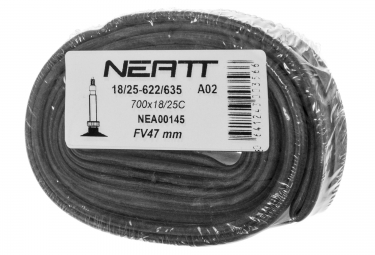 Cámara de aire NEATT 700 x 18 - 25 Válvula Presta