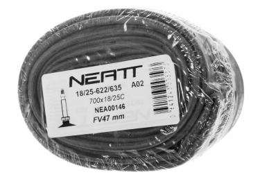 NEATT Pack of 2 Tubes 700 x 18 - 25 Presta Valve