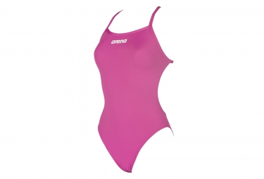 Maillot de bain femme arena solid lightech high rose 40