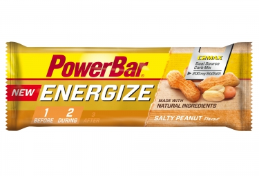 powerbar barre energize c2max 55gr cacahuete salee