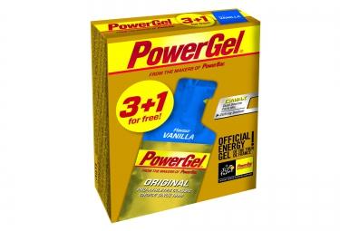 POWERBAR 4 Energy Gel POWERGEL ORIGINAL 41gr Vanilla