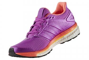Adidas supernova glide 8 violet orange femme 39 1 3