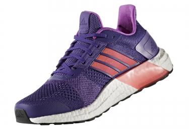 adidas running ultra boost st violet rose femme 38