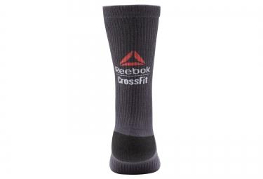 chaussettes montantes 4 chaussettes reebok crossfit noir multi couleur 37 39