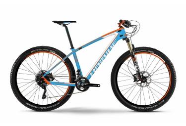 VTT Complet Semi-Rigide Haibike GREED 9.50 29'' Blanc / Bleu / Orange / Blanc / Orange 2016